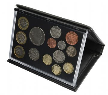 2011 Black Leather Deluxe Proof set